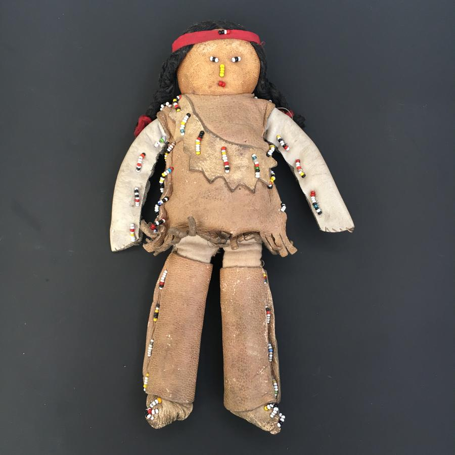 American Indian Doll Plains Indians