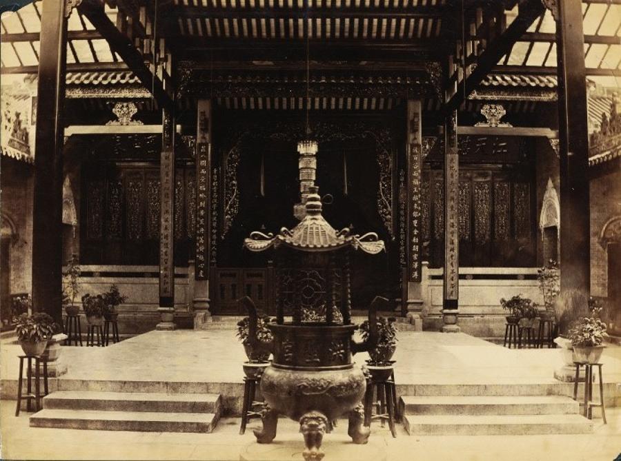 Chinese Temple China C1880