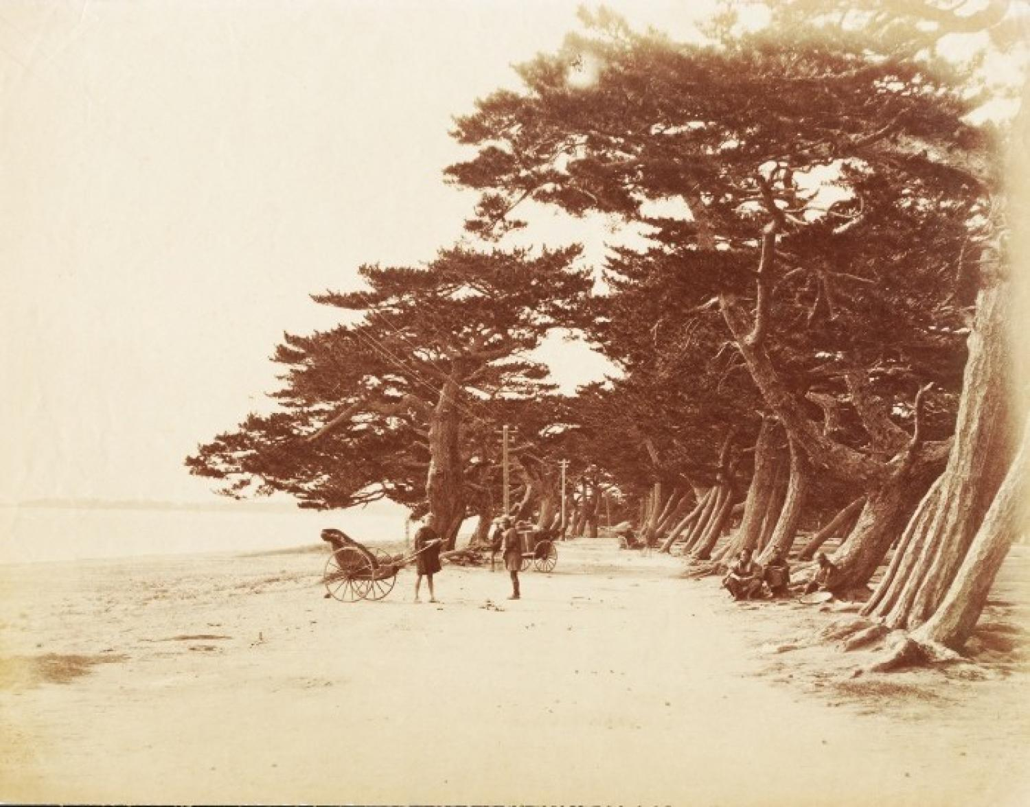A Countryside Scene in Japan C1870