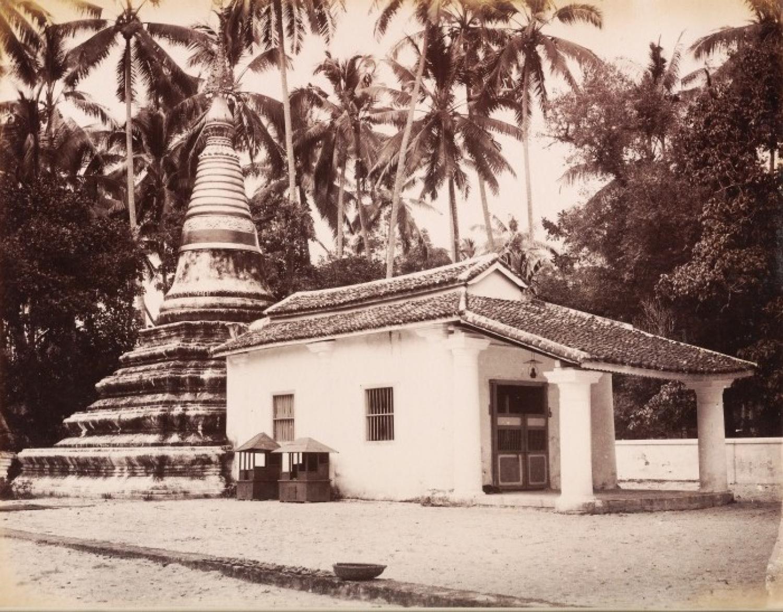 Siamase Temple Penang Malaysia C1885