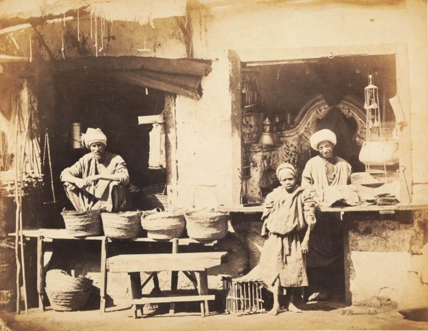 Marchants of Cairo Egypt C1865