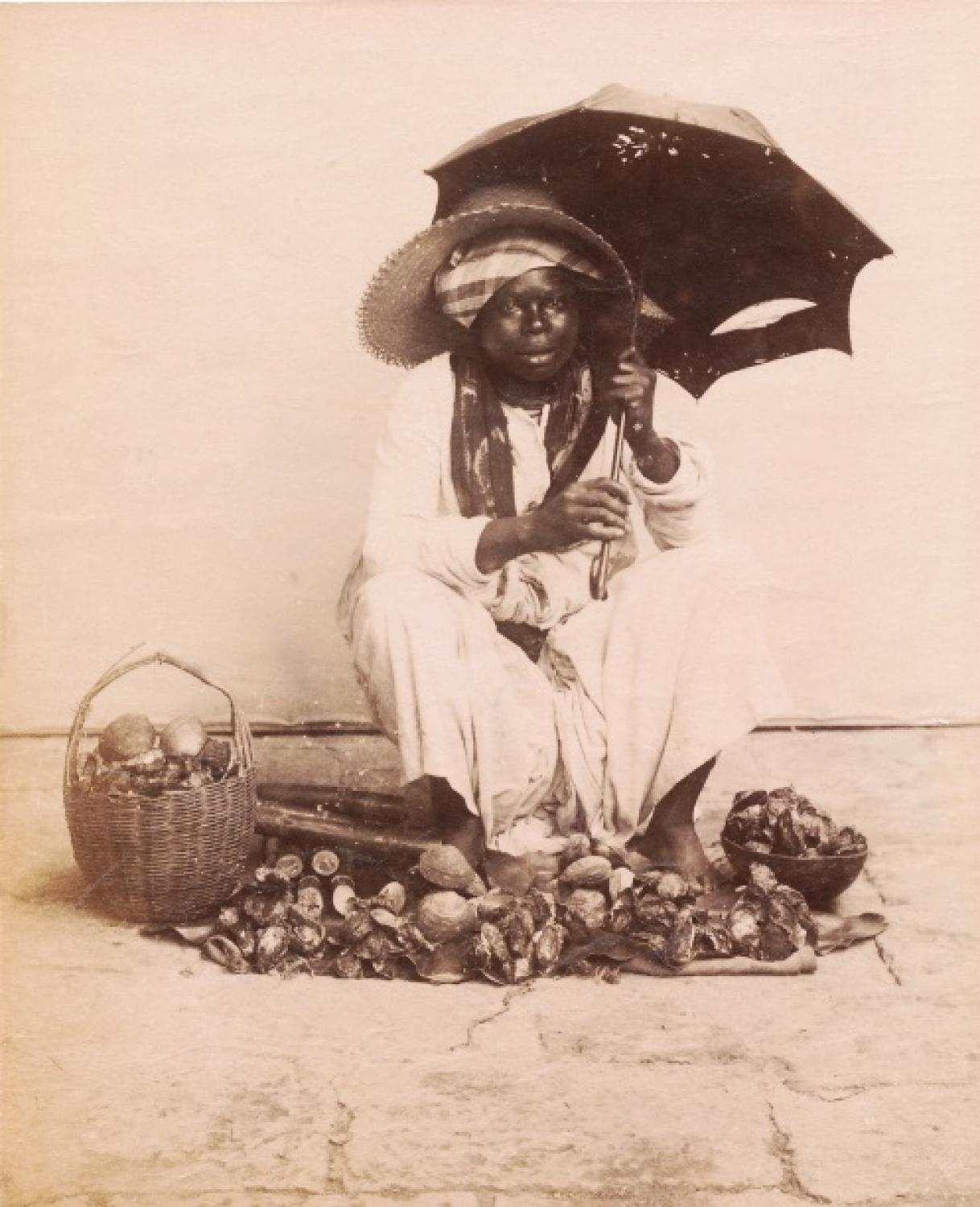 Oyster Seller South America C1885