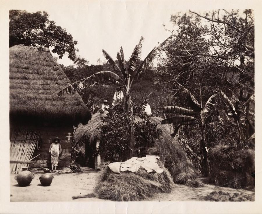 Native Dwelling in Chinauta Guatemala C1885