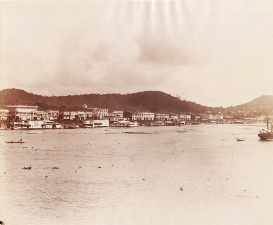 Sea Front Guayaquil Ecuador C1885