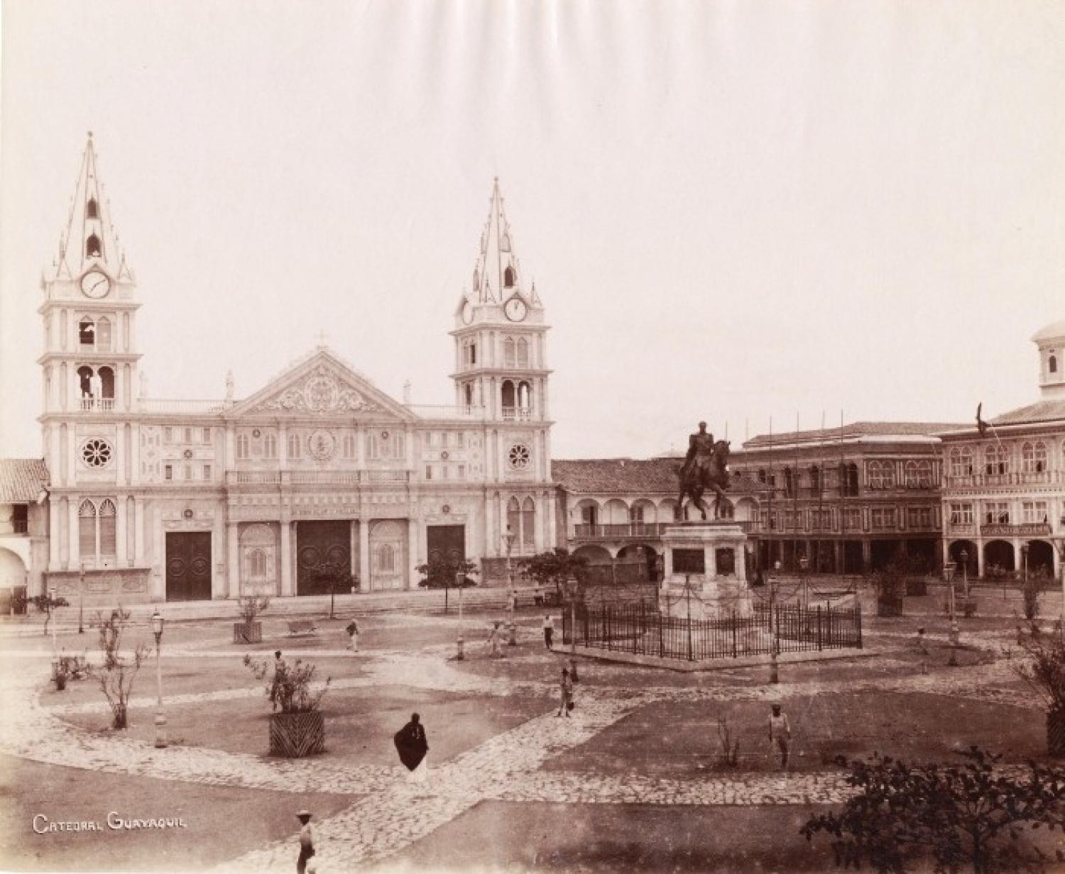 The Cathedral Guayaquil Ecuador C1885
