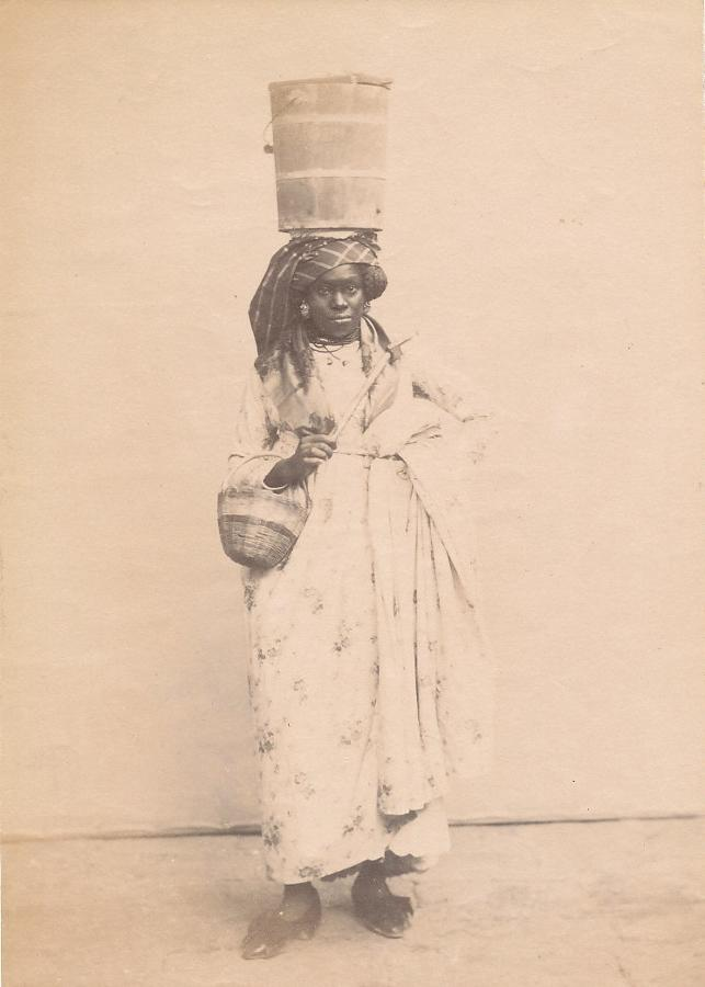 Native Girl South America C1890