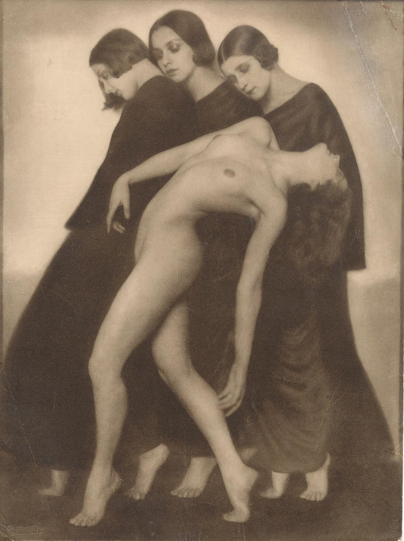 Bewegungsstudie By Rudolf Koppitz 1925