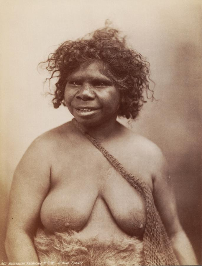 Aboriginal Lady. Australia By H.King C1885