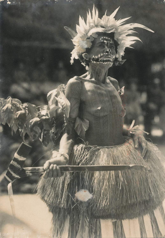 Mailu Island Lady Papua New Guinea C1930
