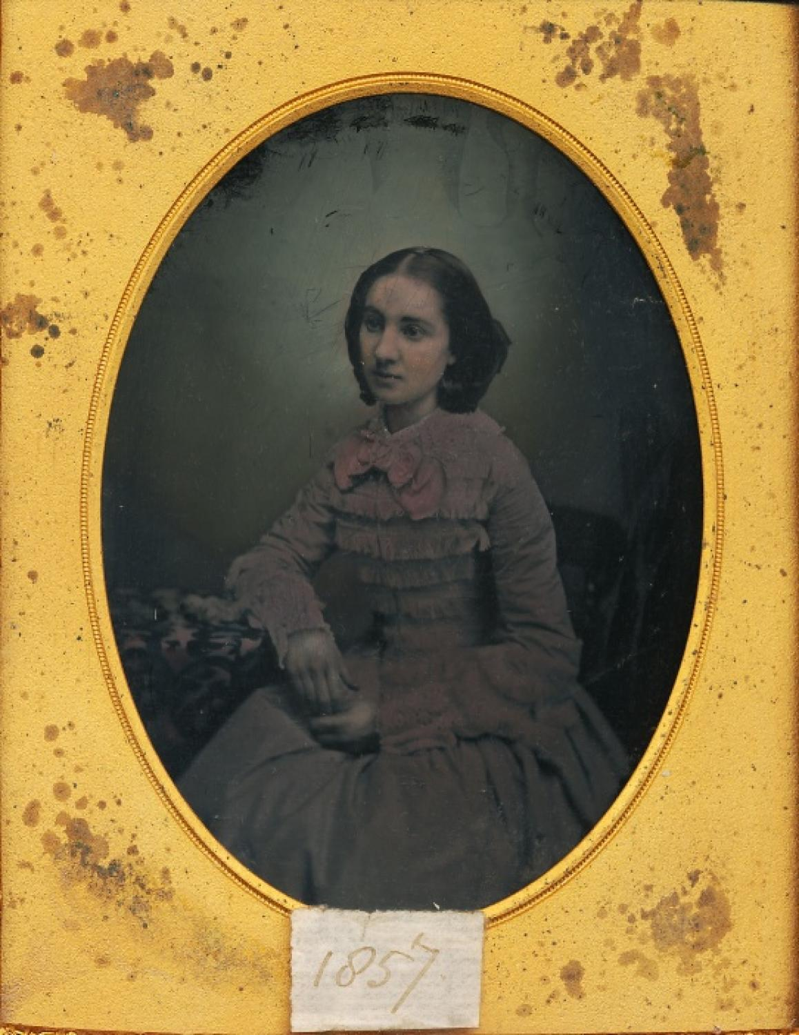 1/2 Plate Ambrotype of A Young Lady