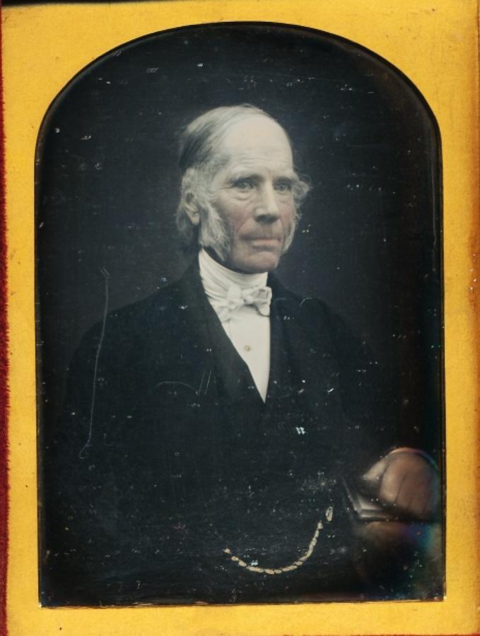 1/4 Plate Daguerreotype of A Gentleman