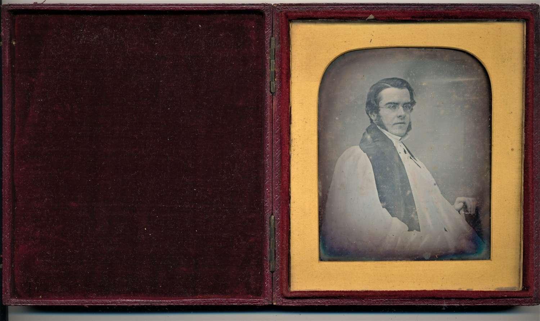 1/4 Plate Daguerreotype of A Gentleman, By Richard Beard