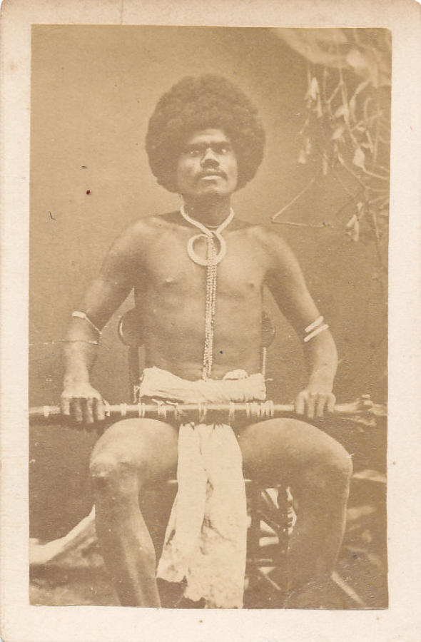 CDV Fiji Warrior with a Club C1875
