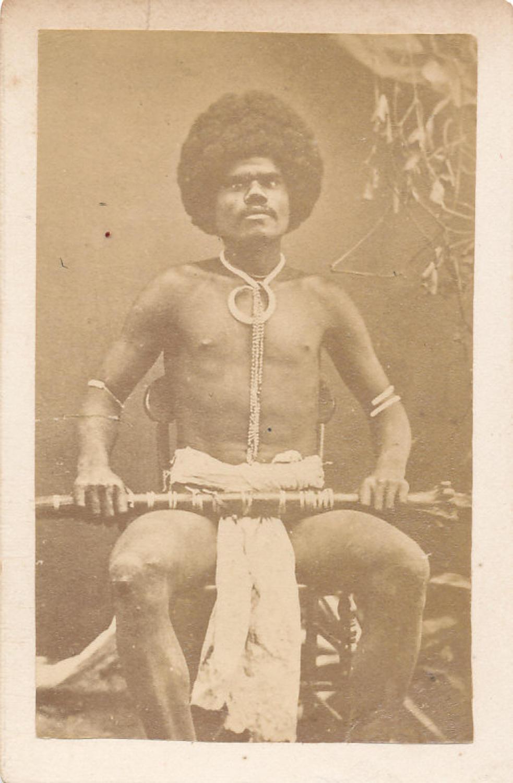 CDV Fiji Warrior with a Club C1875
