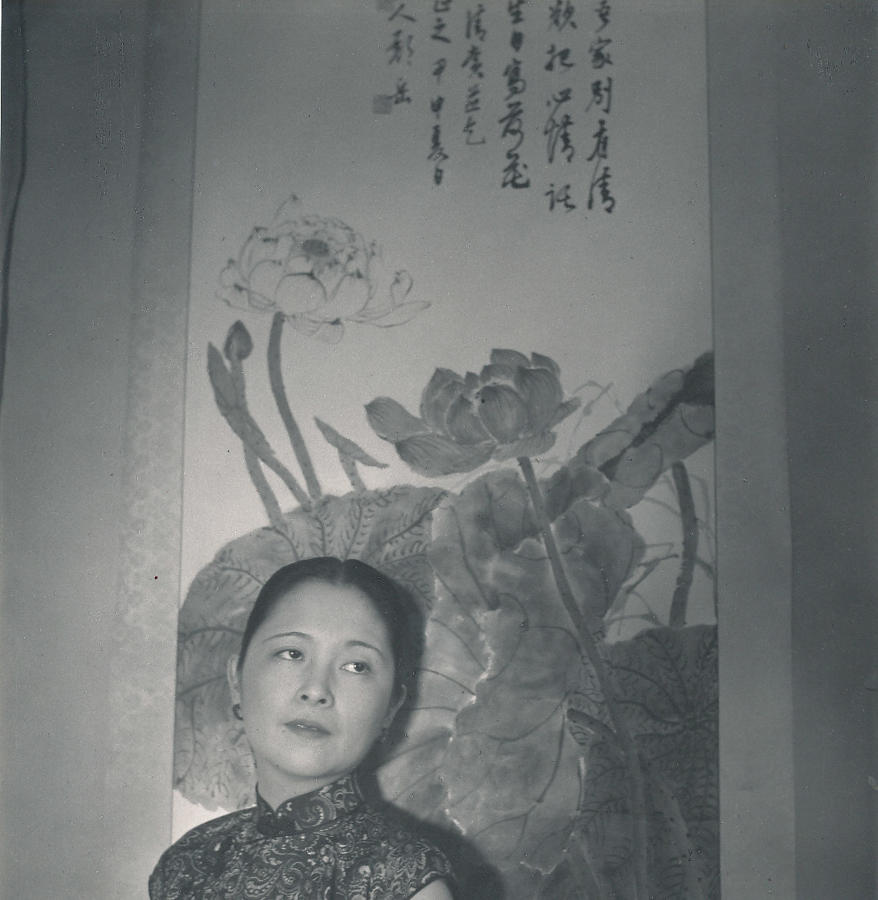 Mrs K.C.Wu. Wife of Vice-Minister of Foreign Affairs. Cecil Beaton