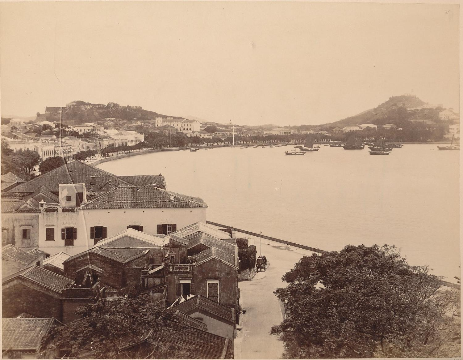 Macau Harbour China C1875