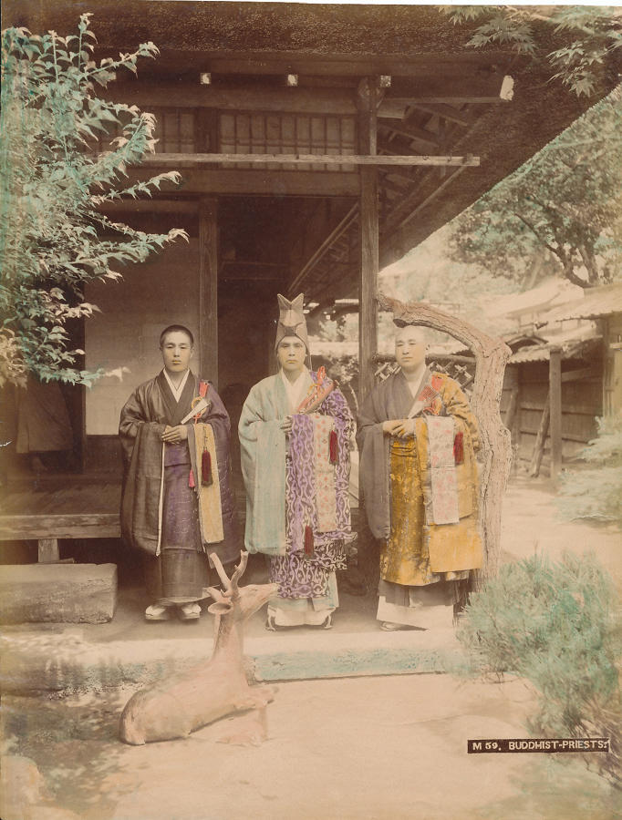 Buddhist - Priests Japan C1880