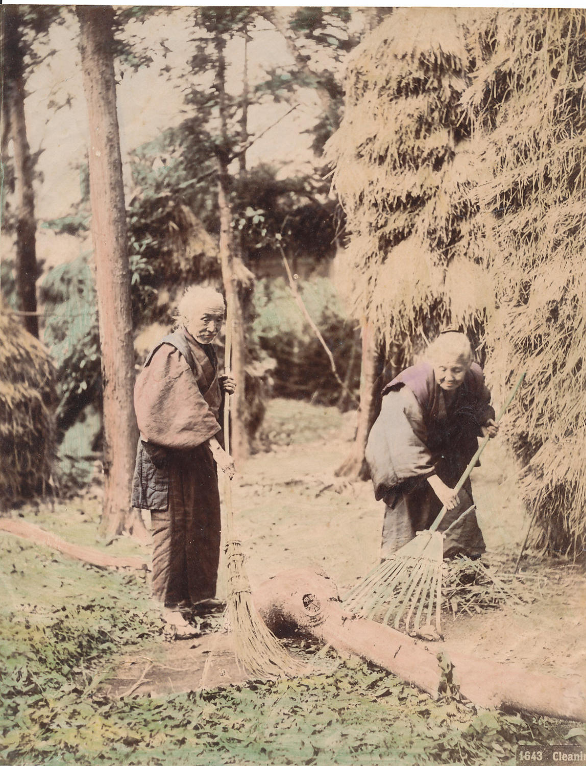 Cleaning ,Japan C1880