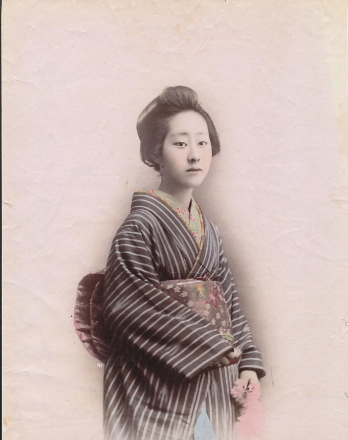 Japanese Girl. Japan C1880