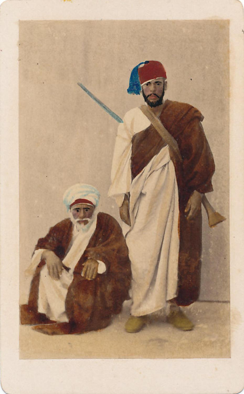 Beduines of Ghazah Egypt W. Hammerschmidt C1860