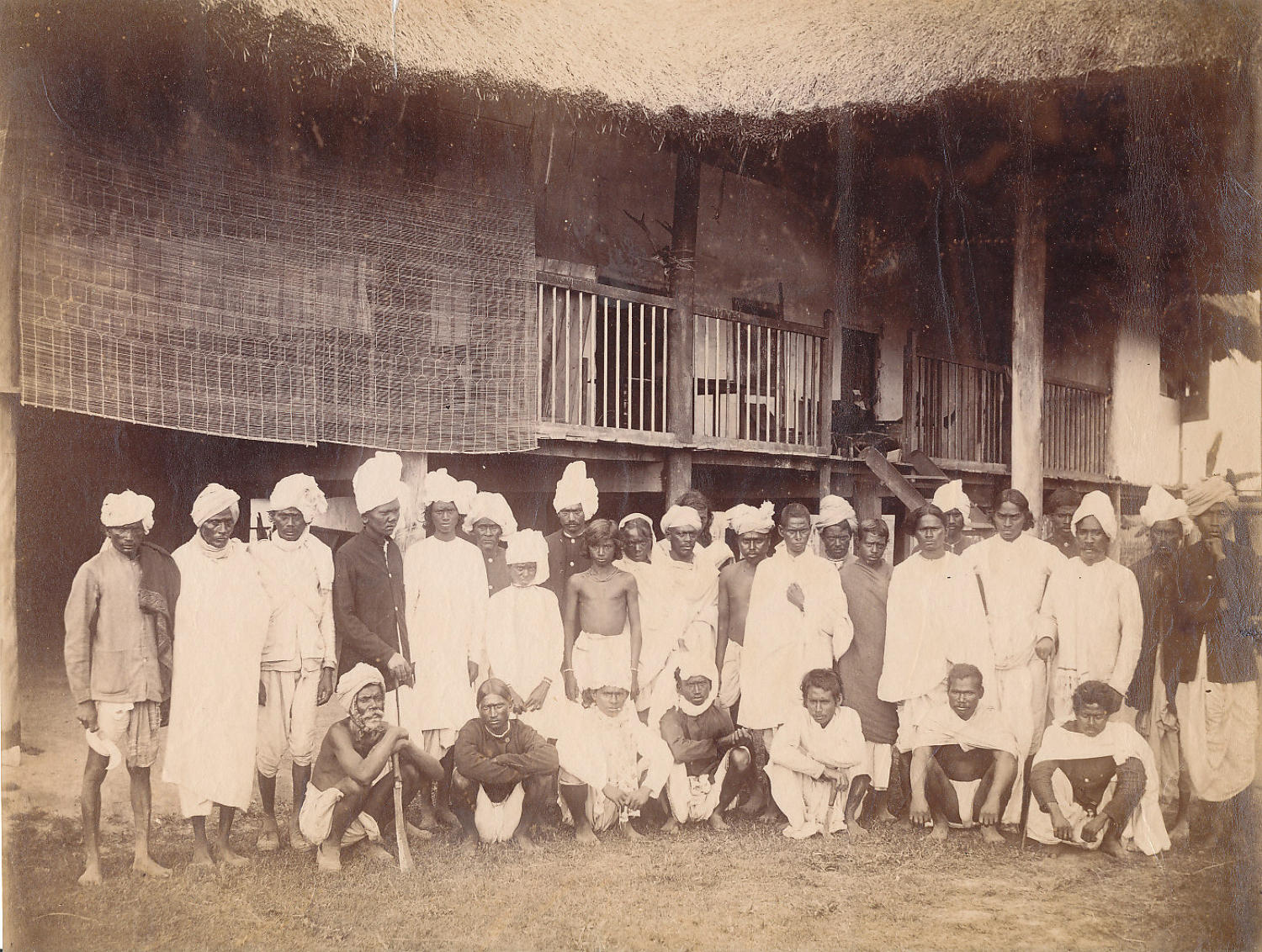 Group of Indians C1875 India