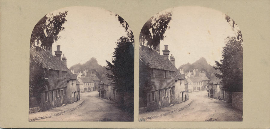 Early Stereoview of England C1860