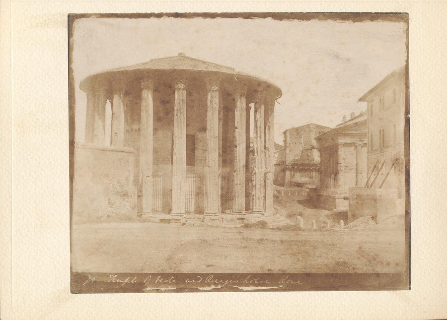 The Forum of Trajan. By Rev Calvert Jones C1846