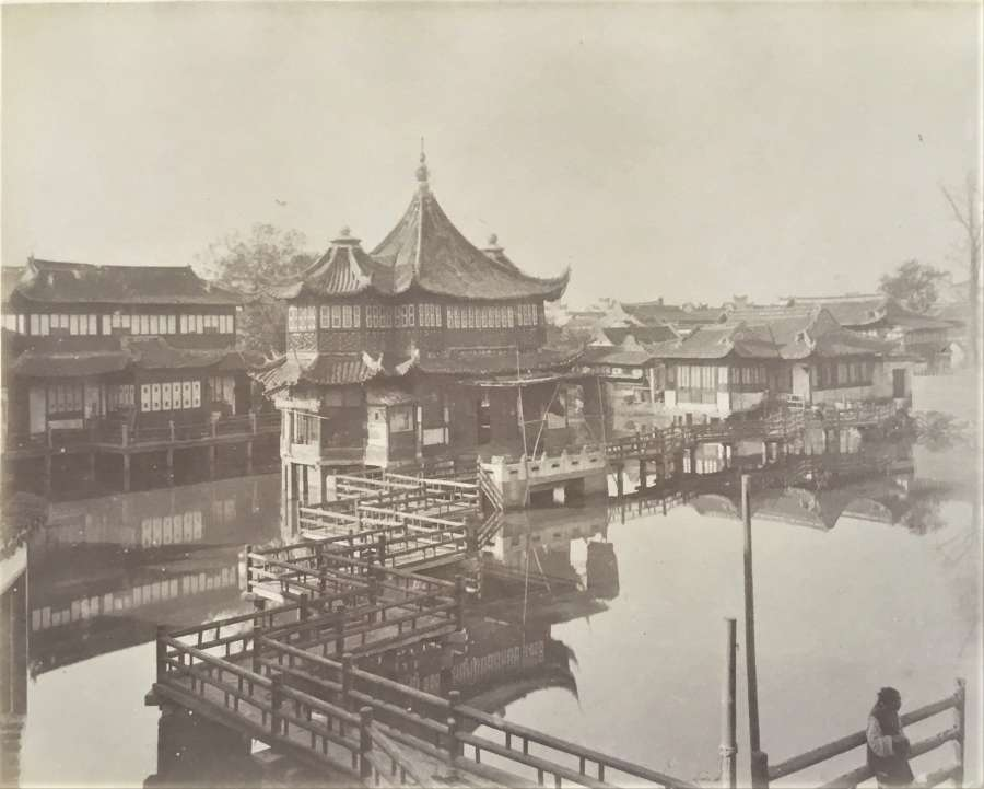 Tea House Shanghai China C1870