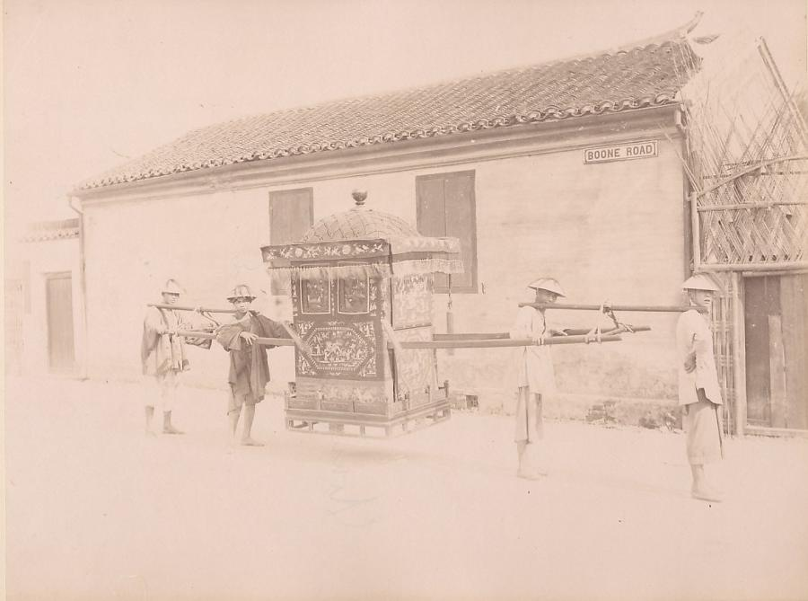 Boone Road, Marriage Shanghai China C1870