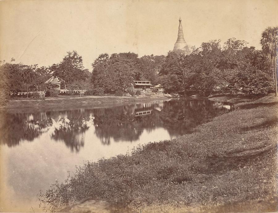 The Gardens Rangoon Burma C1875
