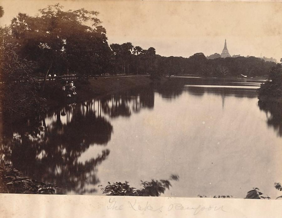 The Yakes Rangoon Burma C1875