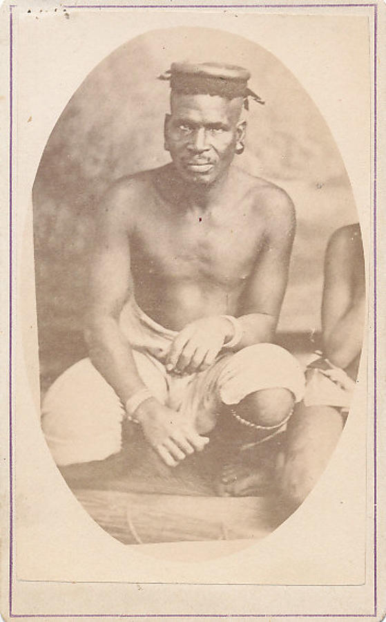 CDV Zulu Native Man South Africa C1880