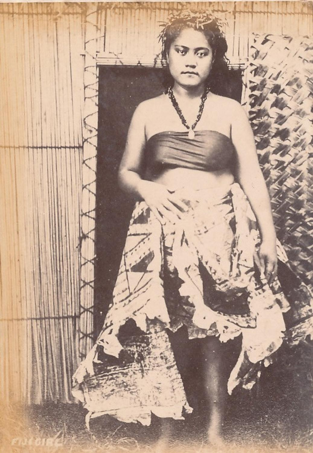 Native Fiji Girl Suva C1890