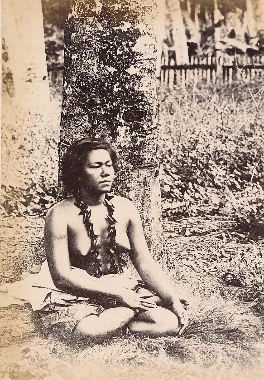 Native Fiji Girl Suva C1890