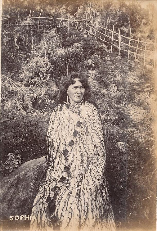 Maori Girl Sophia New Zealand C1890