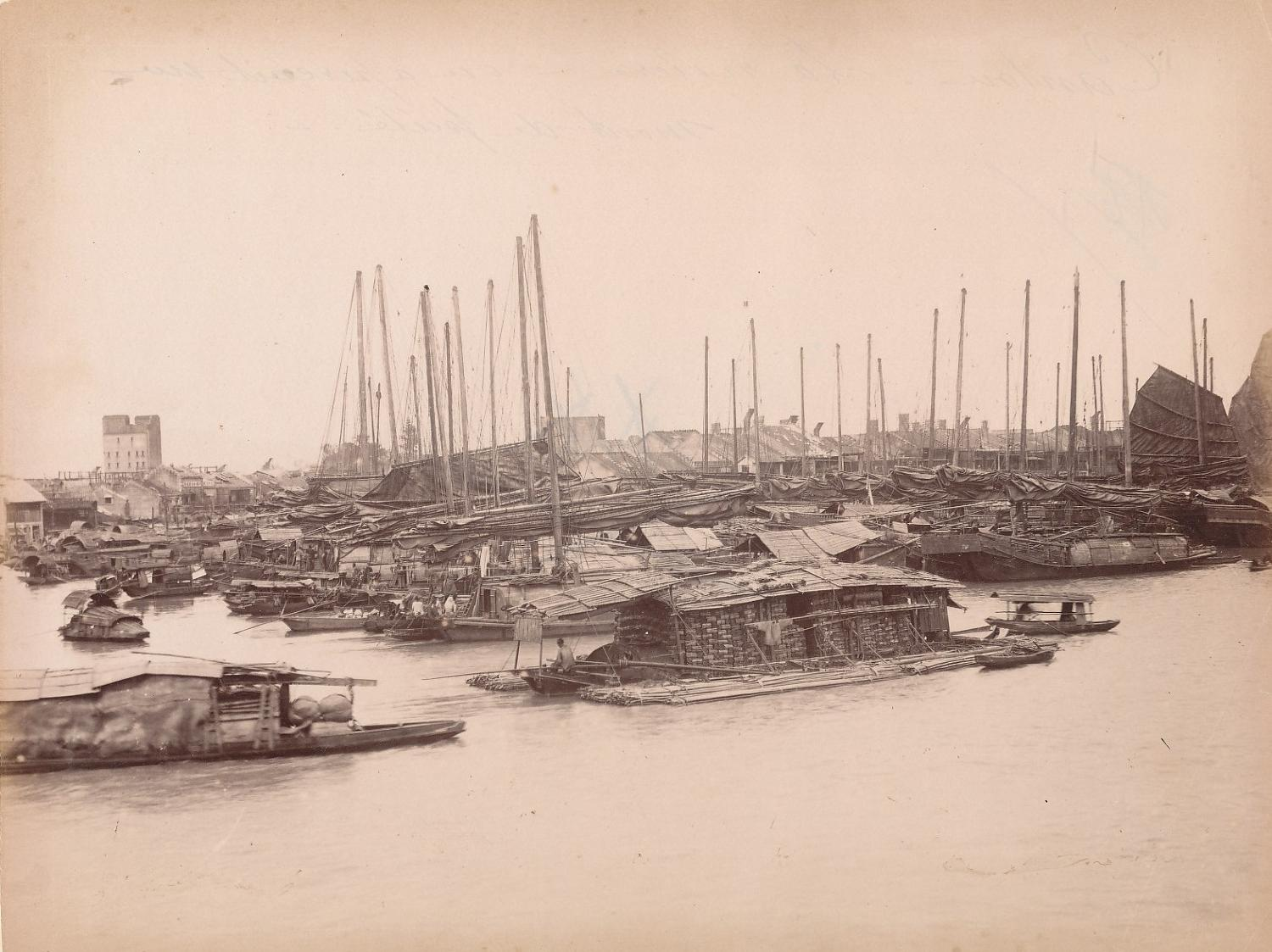 The Pearl River Canton China C1880