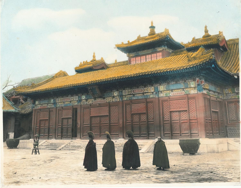 Buddhist Priests Peking China C1920