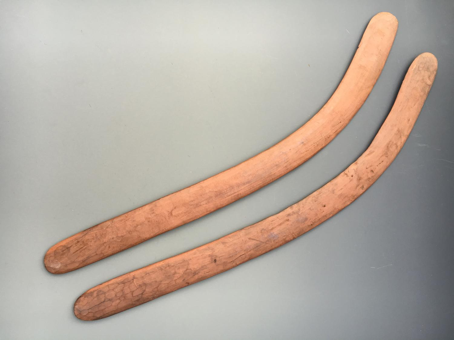 Pair of Good Boomerangs Central Australia