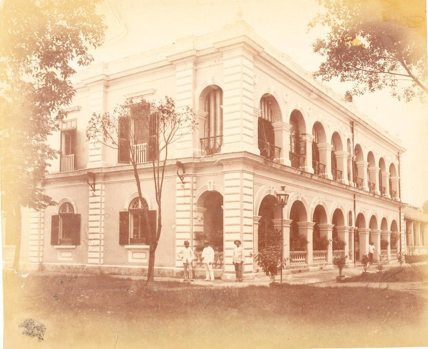 The Shameen Hotel Canton China C1880