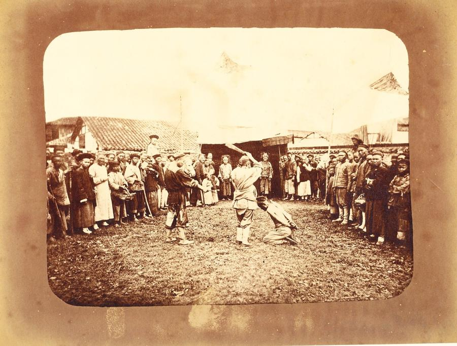 Chinese Execution Shanghai China By William Saunders C1870