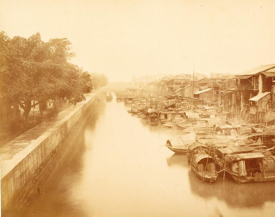 The Shameen Canton China C1870