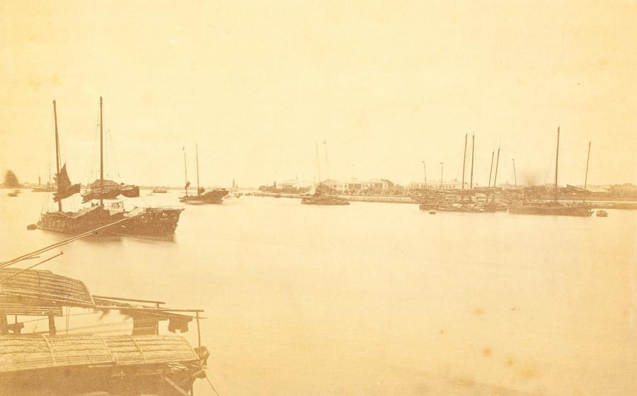 The Shameen Canton China By Floyd 1869