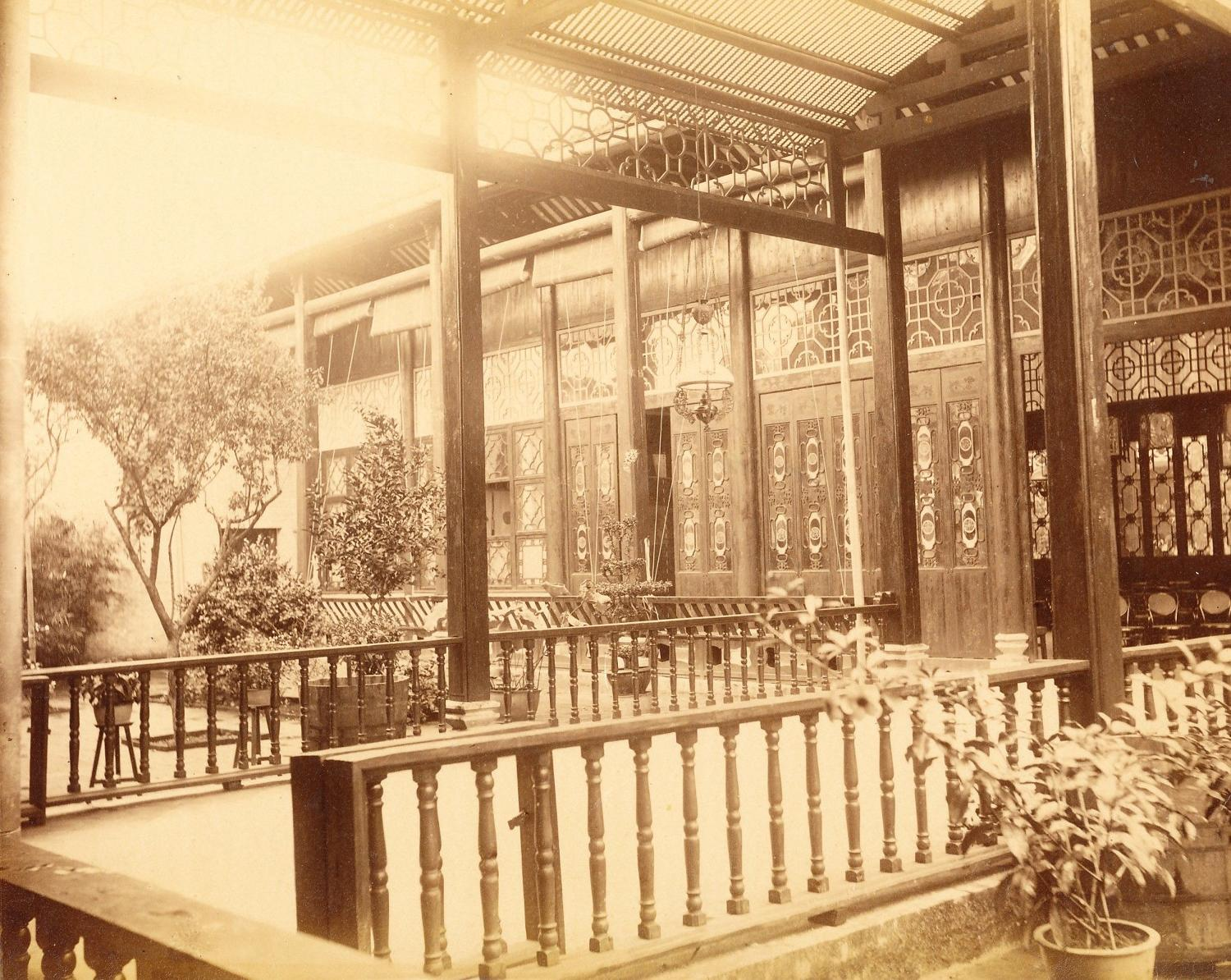 Private House in Canton China C1875