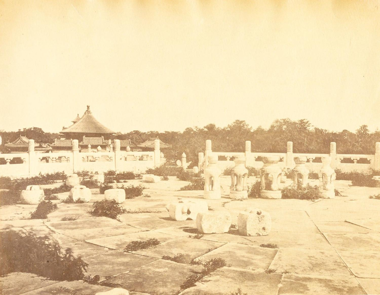 Temple of Heaven Peking China Thomas Child 1876