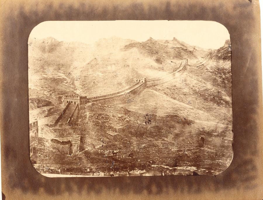 Great Wall Peking China William Sunders C1870