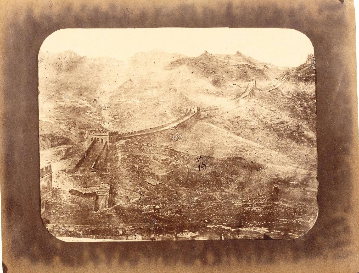 Great Wall Peking China William Sunders C1870