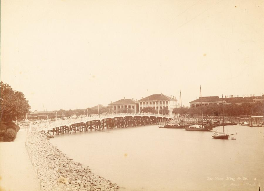 Suzhou Creek Garden Bridge Shanghai China Sze Yuen Ming & Co C1885
