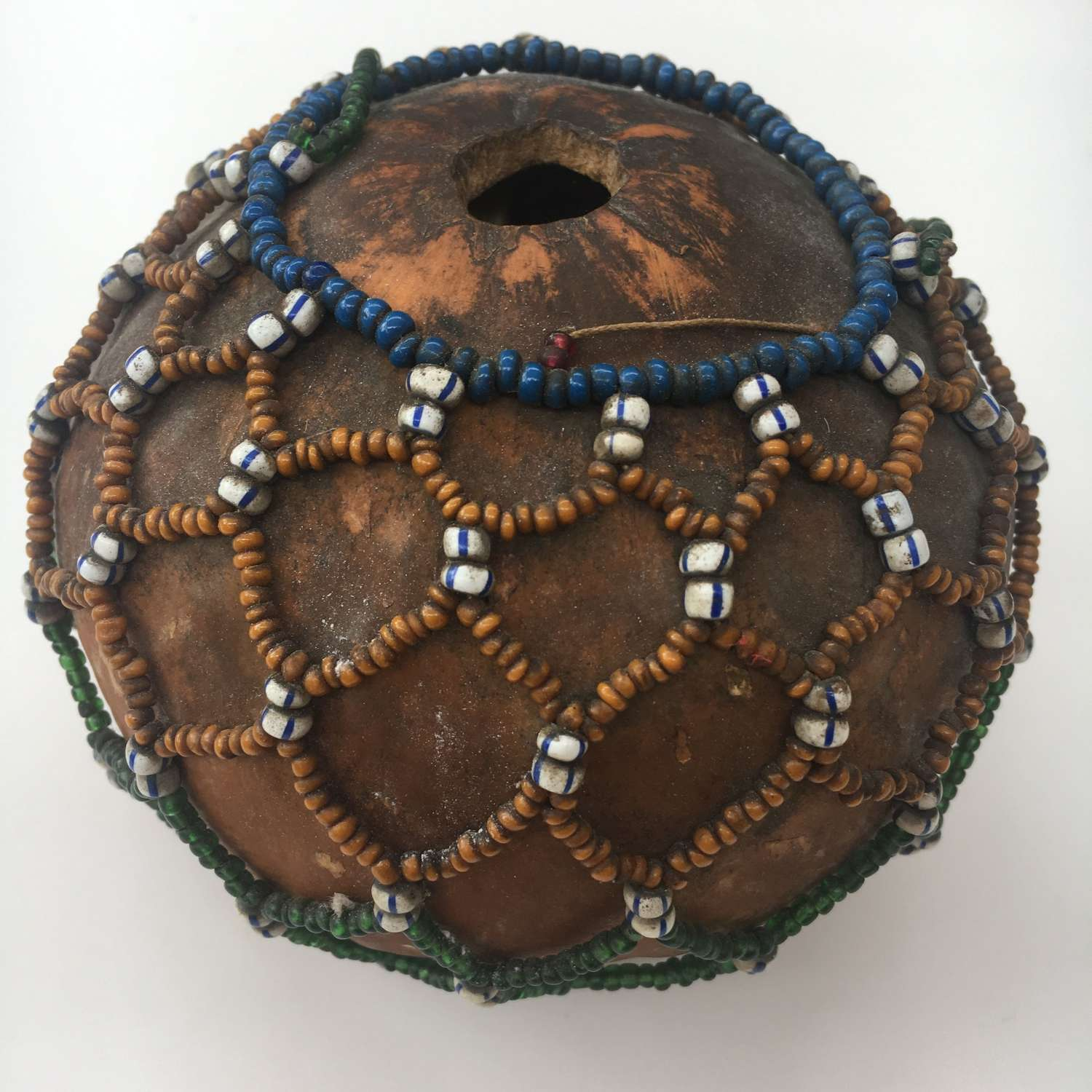 Beaded Snuff Gourd Container South Africa