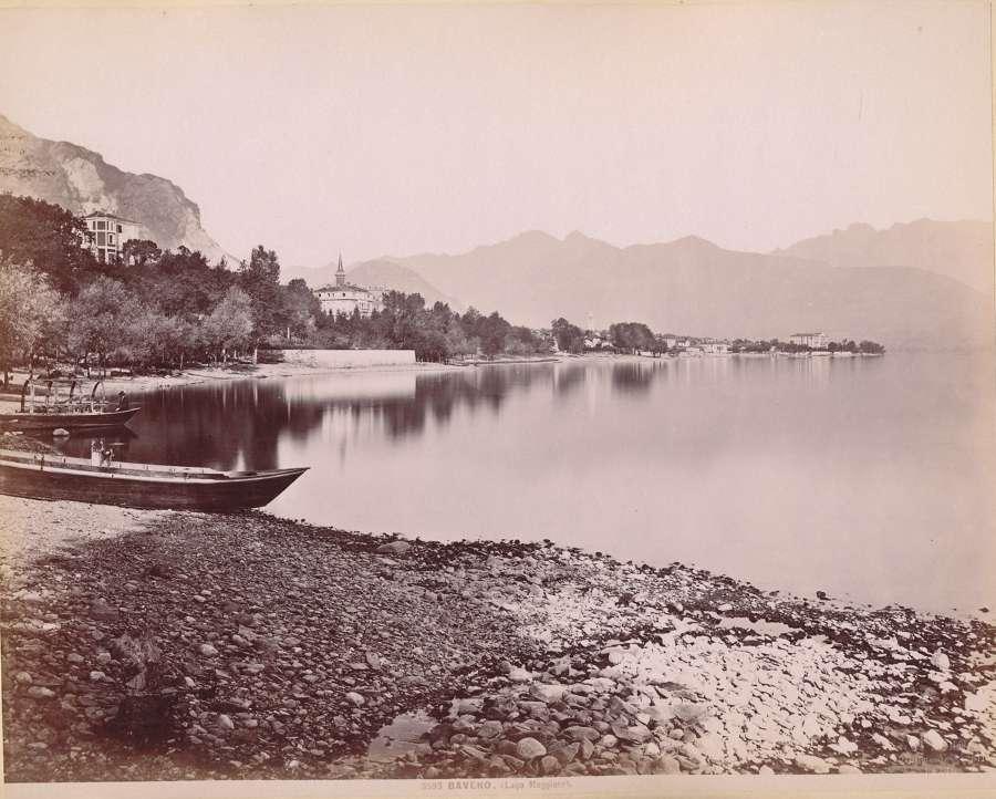 Italy BavenoLago Maggire, Lake Maggire No 3593 C1880