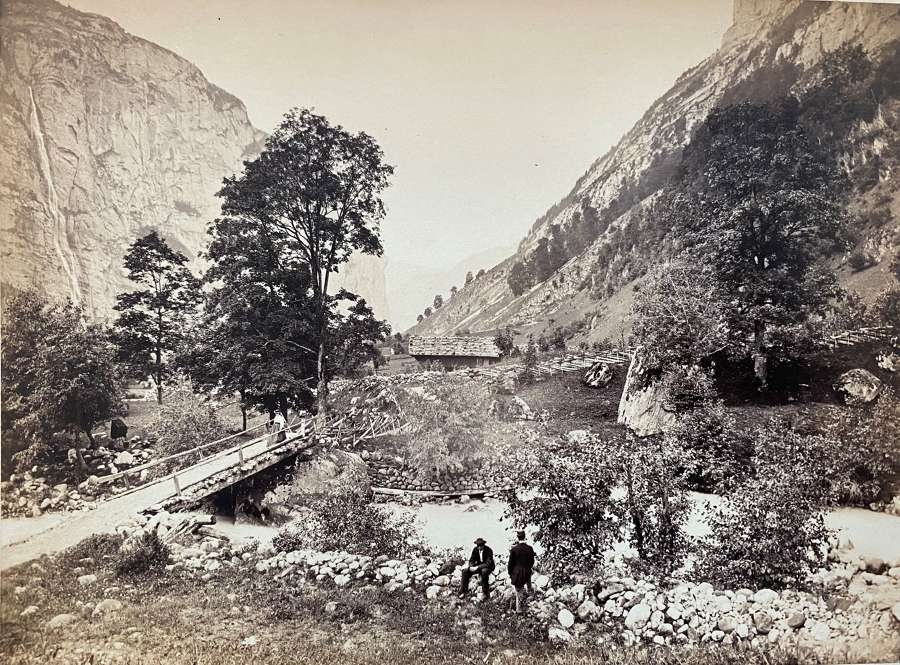Views of Switzerland and Savoy .By William England C1863